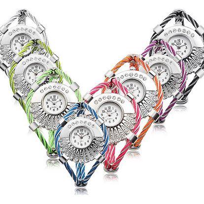 Dámské hodinky v originálním provedení - mnoho barev