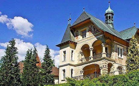 3 - 6 dní relaxace s polopenzí v Luhačovicích