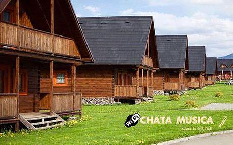 Odpočinek v luxusní chatě Musica pro 6 osob na Liptově