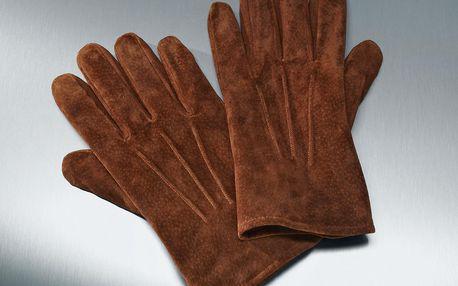 Tchibo, Rukavice z velurové kůže Copper 8,5