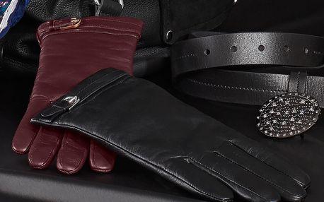 Tchibo, Kožené rukavice, černé 8
