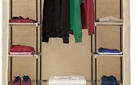Vlhku odolná skládací šatní skříň!