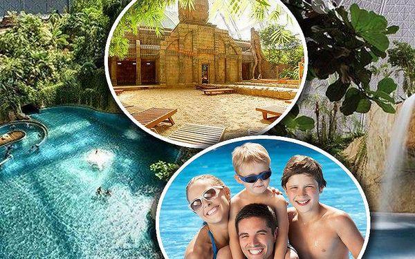 Výlet do Tropical Islands pro 1 osobu. Největší aquapark v Evropě s plážemi, tropickým pralesem atd.