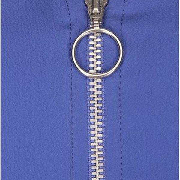 Modrý top s krajkovými detaily Noisy May Mena5