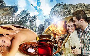 Pobyt na 3 až 6 dní pro dva v Adršpašsku! Plná penze, masáž nebo aquapark, ochutnávka svařených vín a další program!