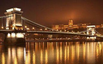 4 dny v Budapešti během adventu vč. návštěvy lázní