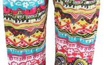 Barevné pyžamové kalhoty Desigual Polka Dots