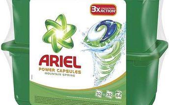 Ariel Mountain Spring tekuté tablety 2 x 32 ks