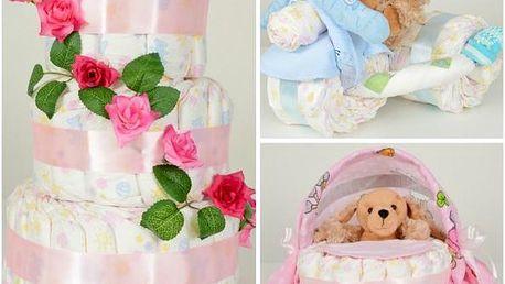 Plenkový dort pro miminka!
