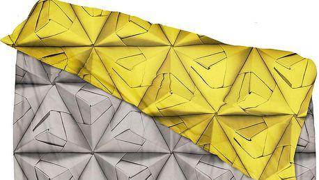Povlečení Monogami Yellow 200 x 200 cm - doprava zdarma!