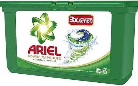 Ariel Mountain Spring tekuté tablety 38 ks