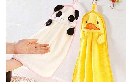 Ručníky pro děti v podobě zvířátek