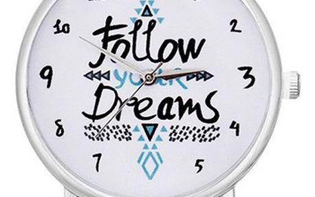 Unisex hodinky Follow Your Dreams