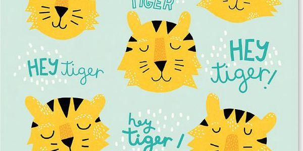 Plakát Hey Tiger 50x70 cm