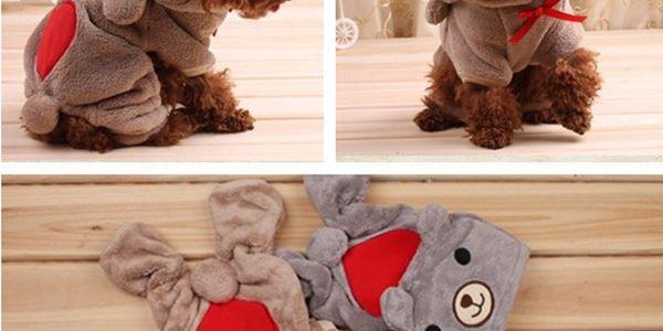 Zimní kombinéza pro malé a střední psy