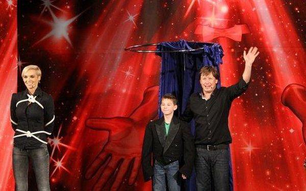 Hra kouzel a magie - představení pro děti