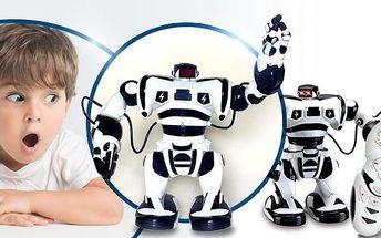 RC Robot - Roboman! Jeden z nejmodernějších robotů na dálkové ovládání včetně poštovného!