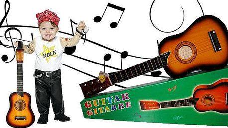 Dětská kytara s možností ladění