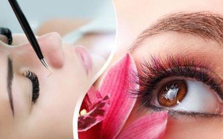 Prodloužení řas značkou Violet Lashes. Kvalitní syntetické norkové řasy pro přirozený vzhled.