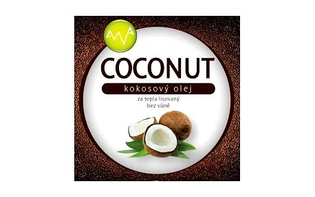 AWA superfoods Kokosový olej COCONUT 1000ml 2 kusy + dárek