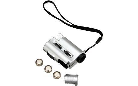 Mini mikroskop s LED osvětlením