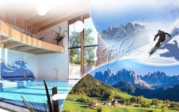 ITÁLIE - Trentino! 6 DNÍ pro DVA ve 4* hotelu s bohatou POLOPENZÍ, WELLNESS a platností 1 ROK!