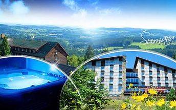 ŠUMAVA, Hotel Zadov***+ na 3 či 6 dní pro DVA s POLOPENZÍ, SAUNOU, holemi na nordic walking a slevou na kola!