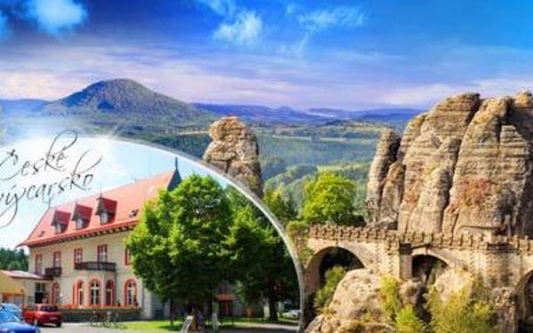 Hřensko, České Švýcarsko! Pobyt na 3 dny pro dva s polopenzí v srdci Národního parku, platnost do října 2016!