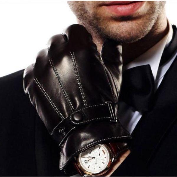 Pánské rukavice na dotykový displej