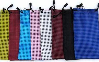 Textilní obal na sluneční brýle - různé barvy