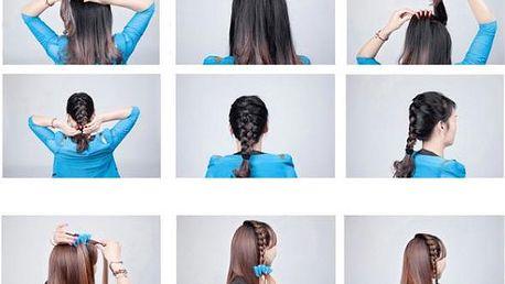 Spona k snadnému zaplétání vlasů!