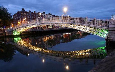 To nejlepší z Dublinu + GLENDALOUGH + POWERSCOURT (letecky z Prahy) (až -13%)