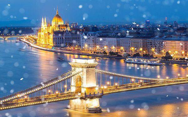 Jednodenní adventní zájezd do Budapešti s možností návštěvy Vidamparku či lázní