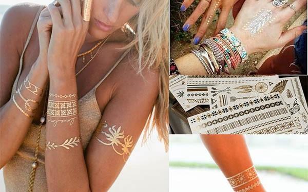Metalické tetování - mnoho variant