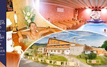 Beskydy na 3 dny pro 2 osoby s polopenzí, saunou, bazénem a slevami na wellness procedury Pivních lázní!