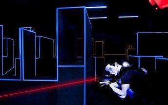 Dvě hry laser game v nejmodernější aréně v ČR