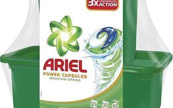 Ariel Mountain Spring tekuté tablety 23 + 32 ks