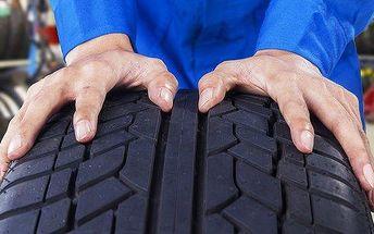 Zimní přezutí pneumatik včetně vyvážení