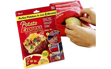 Potato Express - sáček na vaření v mikrovlnné troubě.
