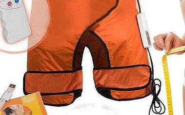 Saunovací šortky pro redukci celulitidy a úbytek v oblastech břicha, zadku a stehen.