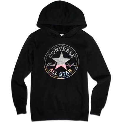Converse Awk Hooded Tunic W. Graphic Black, černá, 40