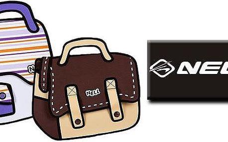 Originální kreslené 2D tašky NELL