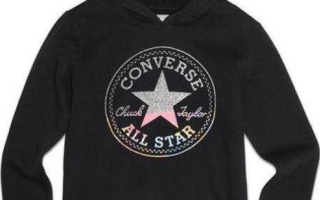 Converse Awk Hooded Tunic W. Graphic Black, černá, 40