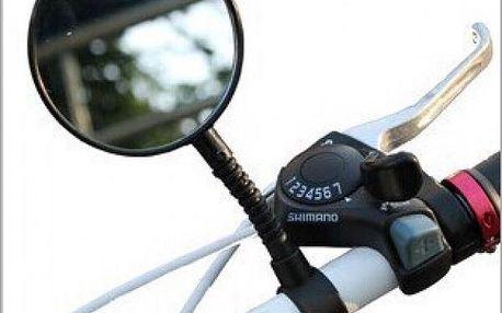 Zpětné zrcátko na jízdní kolo - černá barva