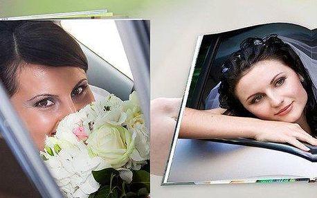 Šité fotoknihy s potištěnými deskami + dárek