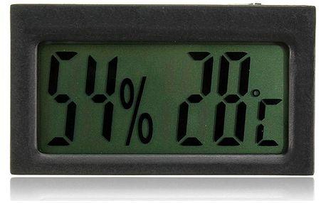 2v1 LCD teploměr a vlhkoměr