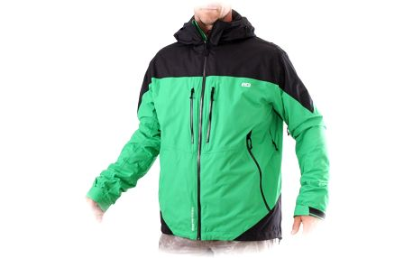 Northfinder Burnaby Lime/Black, zelená, L