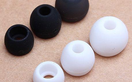 Náhradní silikonové špunty na sluchátka