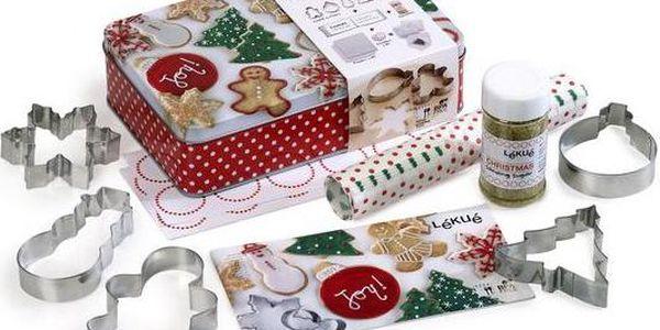 Lékué Vánoční pečící sada