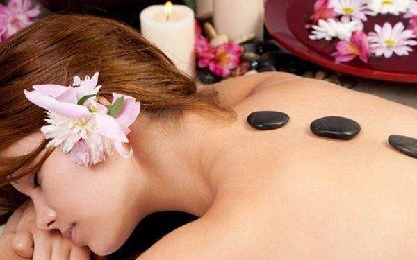 2x45 minut relaxační masáže zad a obličeje